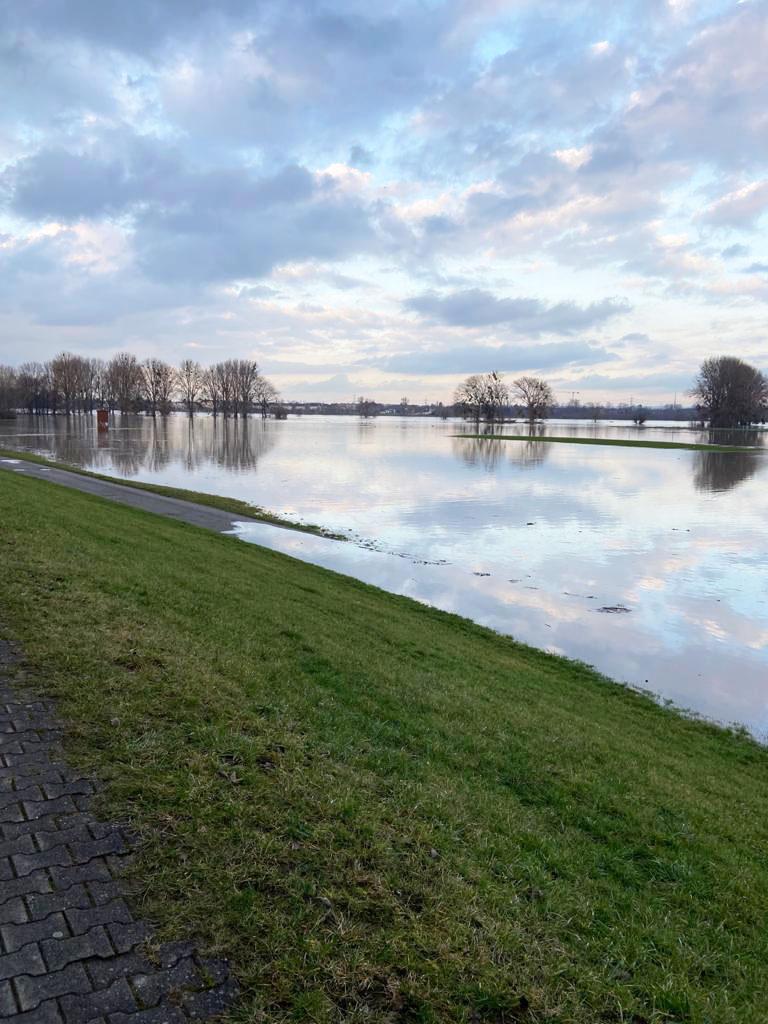 Hochwasser Februar 2021: © Bianca Stube